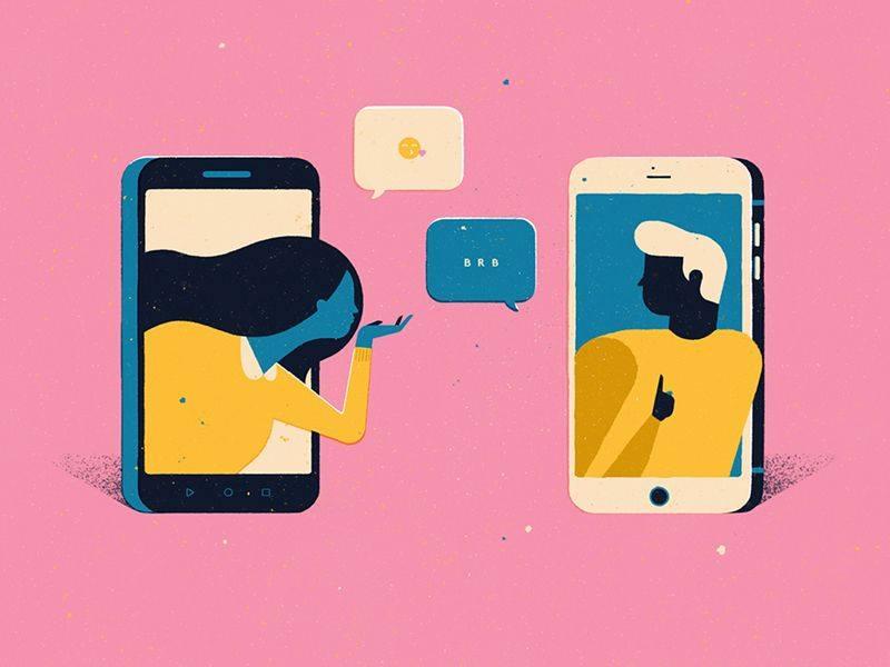 Бісить, коли партнер при вас постійно висить в телефоні?